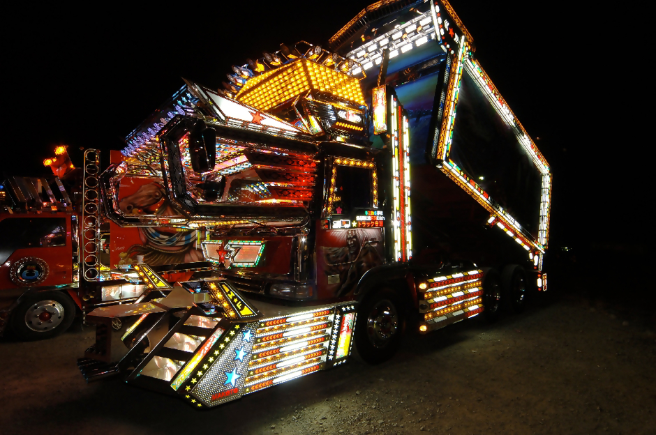 Dekotora Flash and Glam: Trucks with Bling