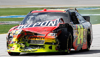 NASCAR News: Talladega 2010 Crashes Feuds and Hot Women