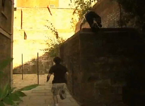 Extreme Game of Free Running Urban Parkour Tag
