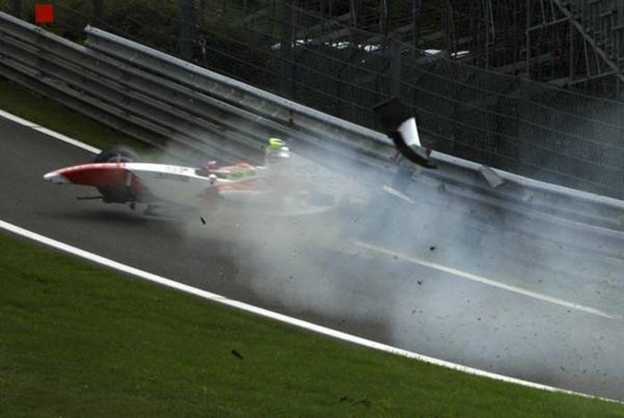 Motorsport Mayhem: Devastation From the Sidelines