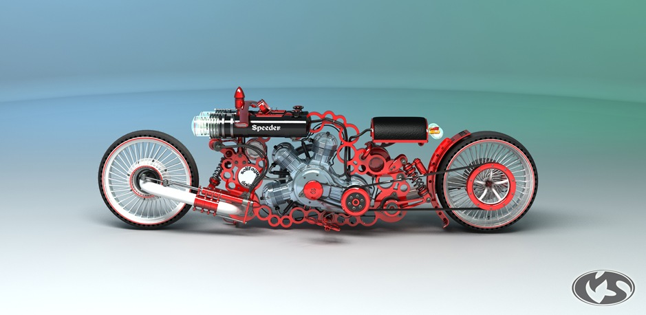 1 10732 thumb 9 Seriously Sick Sleds by Solif: Creative Custom Choppers