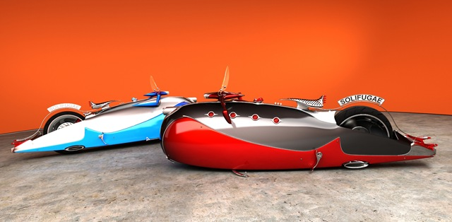 9 Seriously Sick Sleds by Solif: Creative Custom Choppers