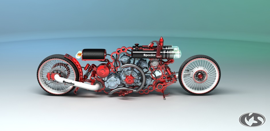 2 10732 thumb 9 Seriously Sick Sleds by Solif: Creative Custom Choppers