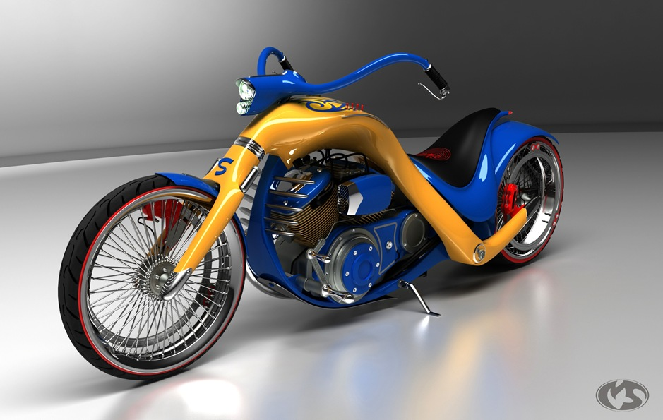 2 11762 thumb1 9 Seriously Sick Sleds by Solif: Creative Custom Choppers