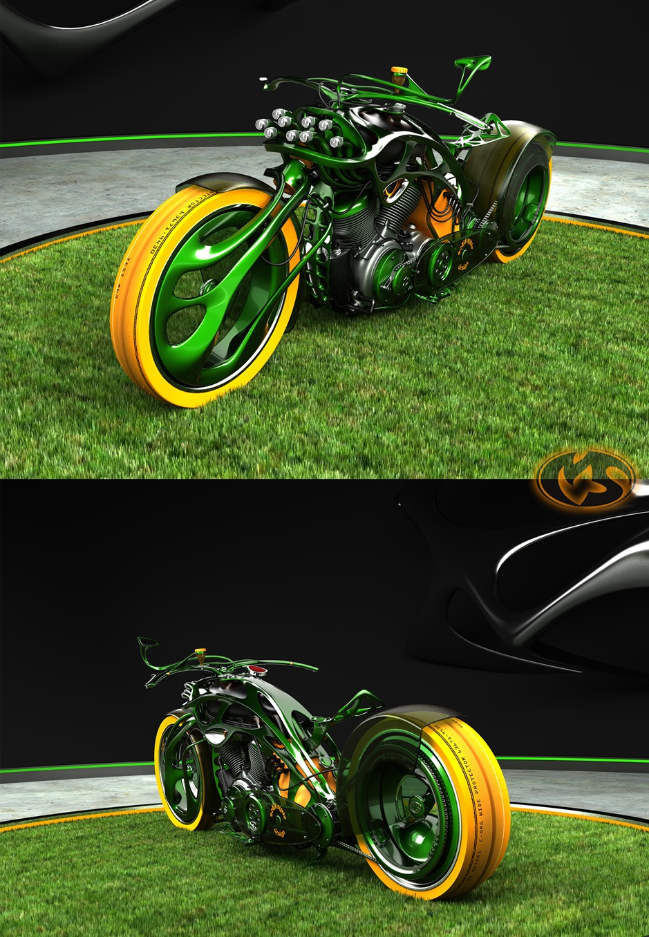 2 15787 thumb 9 Seriously Sick Sleds by Solif: Creative Custom Choppers