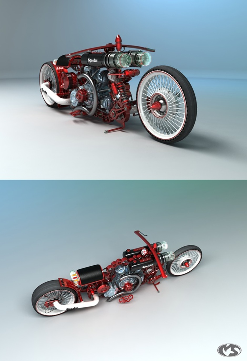 3 10732 thumb1 9 Seriously Sick Sleds by Solif: Creative Custom Choppers