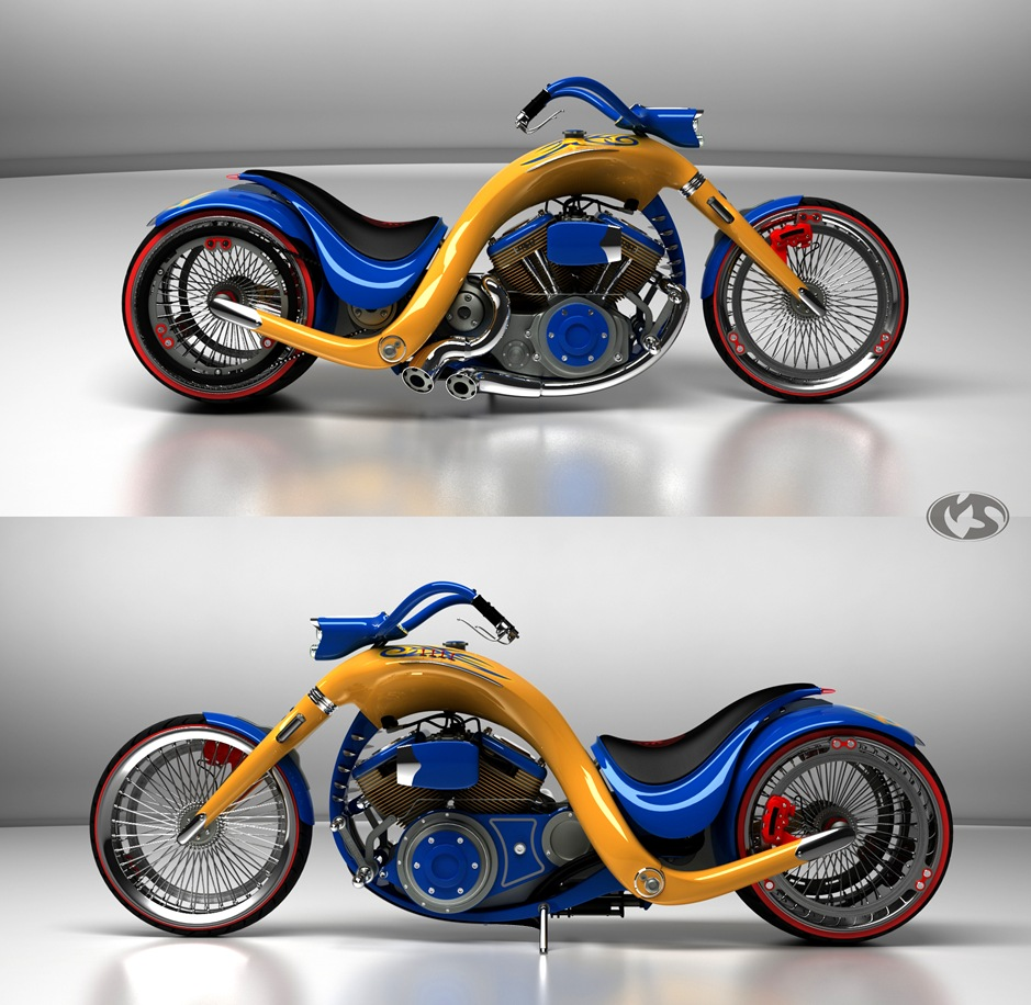 3 11762 thumb 9 Seriously Sick Sleds by Solif: Creative Custom Choppers