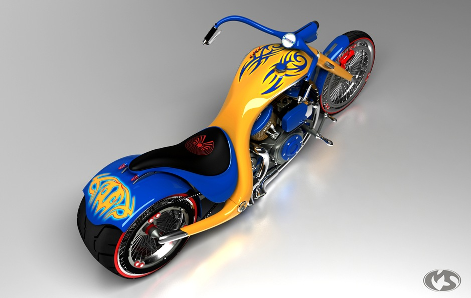 4 11762 thumb 9 Seriously Sick Sleds by Solif: Creative Custom Choppers