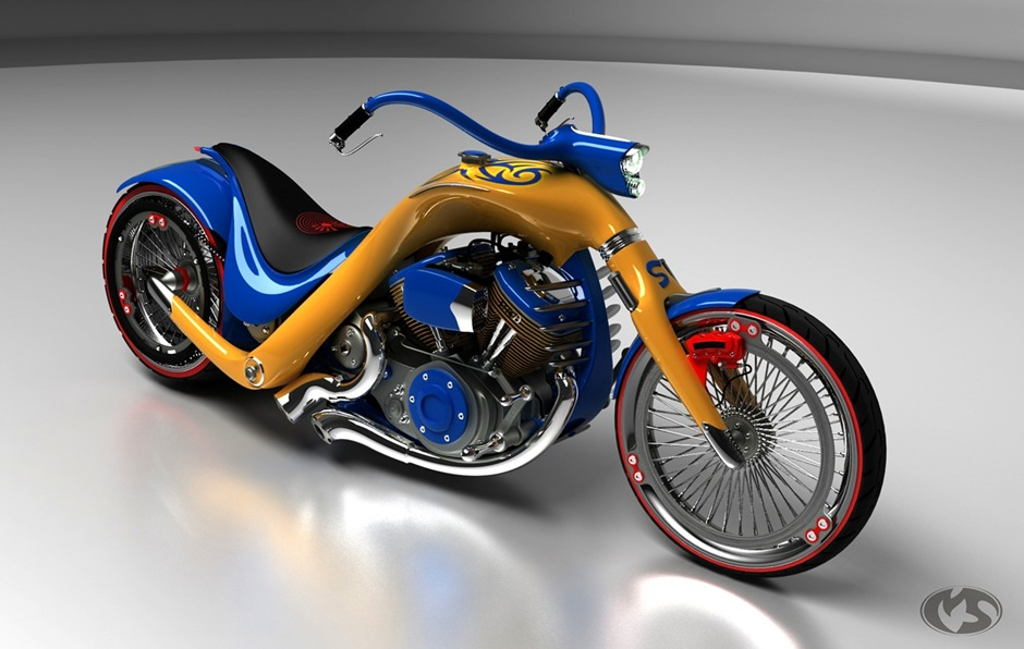 5 11762 thumb1 9 Seriously Sick Sleds by Solif: Creative Custom Choppers