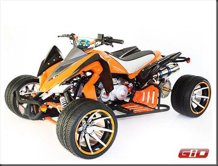 GIO 150cc LAMBO Racing ATV Quad Extra Wide thumb 10 Crazy Quad Mods in Photos