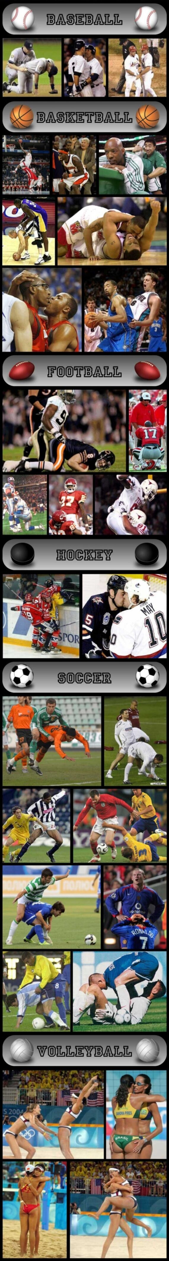 Uncensored Sport Infographic for the Love of the Game