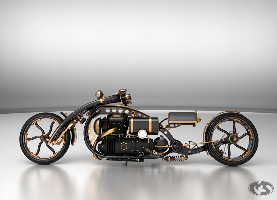 steampunk-chopper